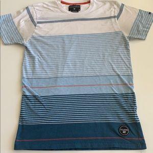 Billabong stripes design cotton t-shirt